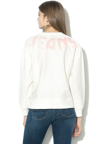 Pepe Jeans London Bluza sport lejera cu imprimeu logo Primrose Femei