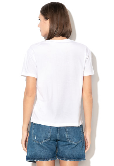 Pepe Jeans London Tricou cu aplicatie logo Esther Femei
