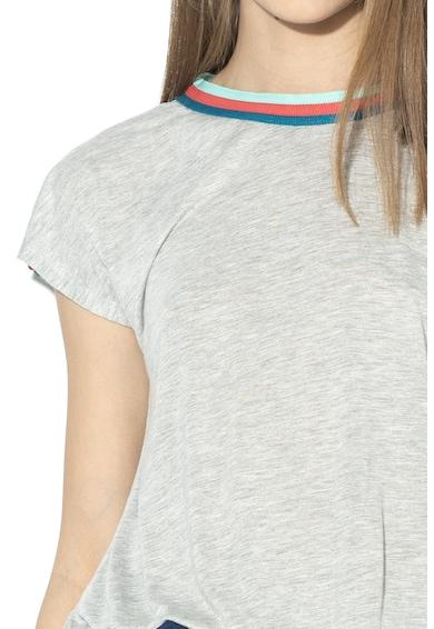 Pepe Jeans London Tricou cu terminatie elastica Gwen Femei