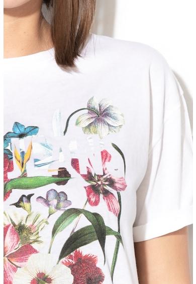 Pepe Jeans London Marina virágmintás póló női