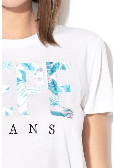Pepe Jeans London Tricou cu imprimeu logo Maria Femei