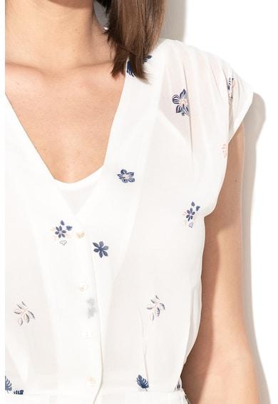 Pepe Jeans London Разкроена рокля Candela с флорален десен Жени