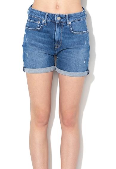 Pepe Jeans London Pantaloni scurti din denim cu mansete plisate Mary Femei