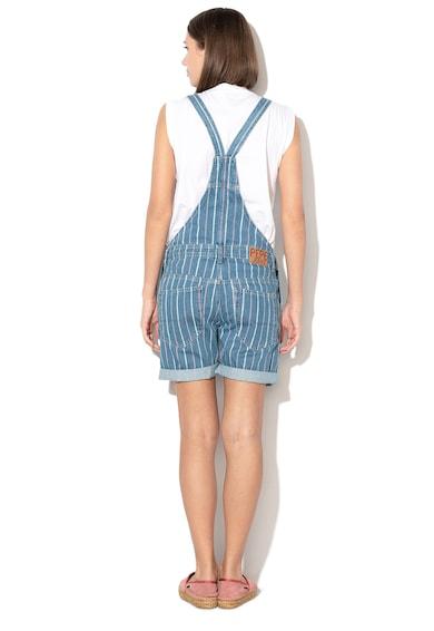 Pepe Jeans London Salopeta cu model in dungi Ava Femei