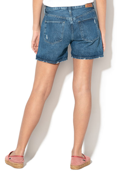 Pepe Jeans London Pantaloni scurti din denim cu rupturi decorative Mable Femei