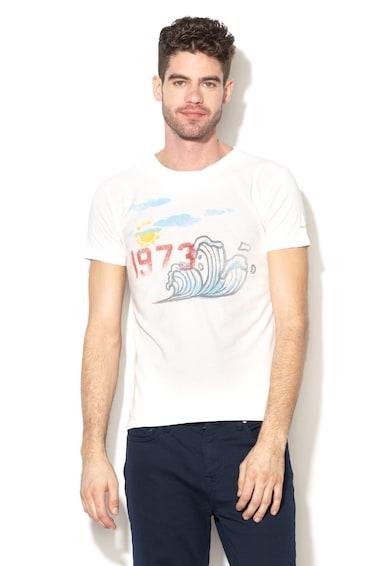 Pepe Jeans London Tricou slim fit cu imprimeu grafic Shifter Barbati