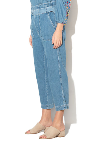 Pepe Jeans London Blugi capri regular fit Phoebe Femei