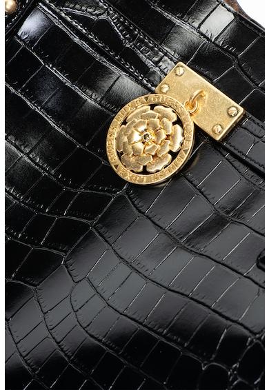 Guess Кожена чанта с лого Жени