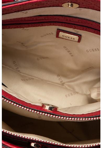 Guess Чанта Lyra от еко кожа с релефно лого Жени