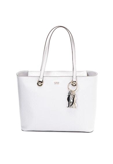 Guess Шопинг чанта от еко кожа с отделящ се аксесоар с лого Жени