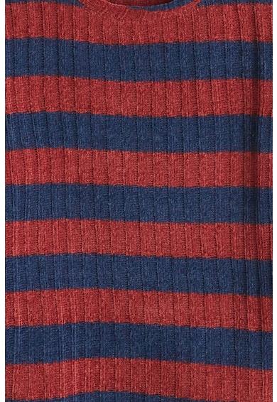 Mango Pulover din tricot fin, cu model in dungi Cheni Fete