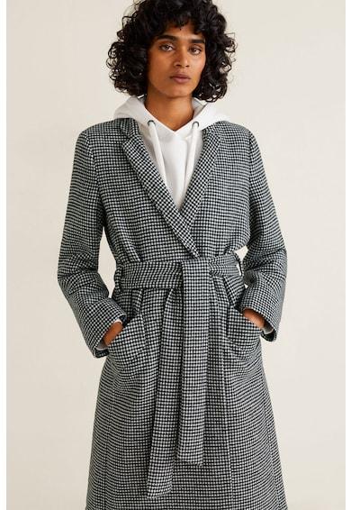 Mango Bequia gyapjútartalmú kabát női