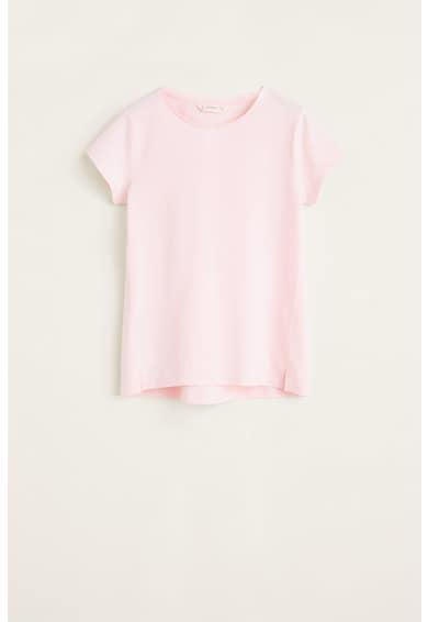 Mango Baseg4 póló hasítékokkal az alsó szegélyen Lány