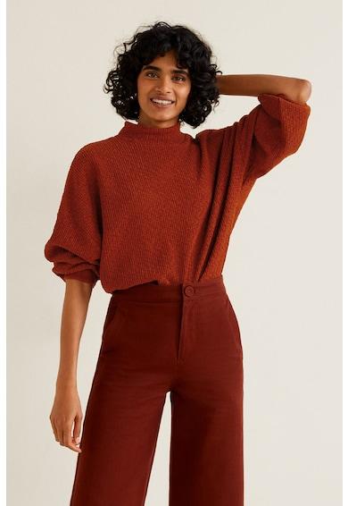 Mango Пуловер Cheni с разкроени маншети Жени