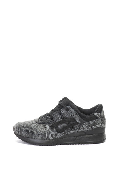 ASICS Tiger Pantofi sport de piele peliculizata Gel-Lyte III Barbati