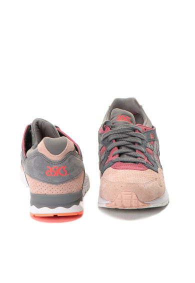 Asics Pantofi sport de piele intoarsa Gel-Lyte V Barbati