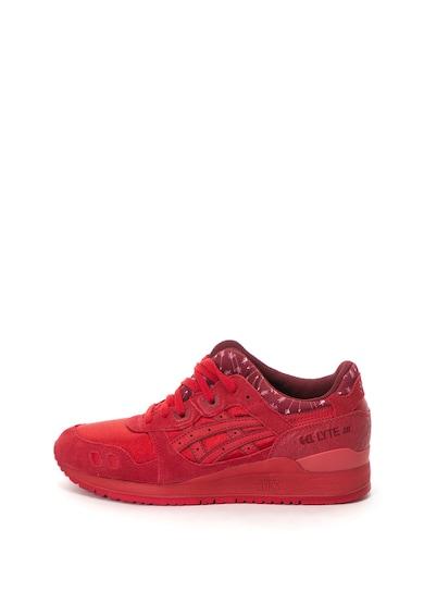 Asics Gel-Lyte III sneakers cipő nyersbőr szegélyekkel női