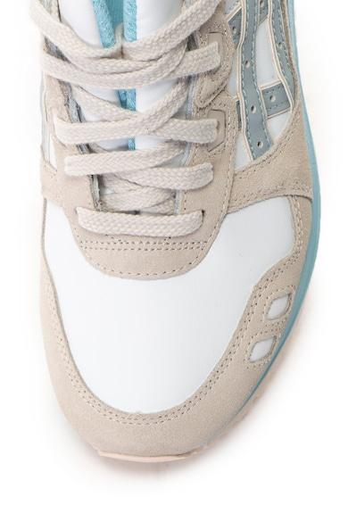 Asics Pantofi sport unisex de piele si piele intoarsa Gel-Lyte III Femei