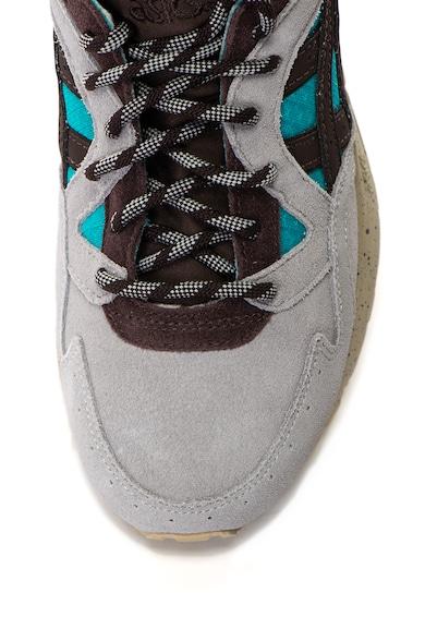 Asics Унисекс спортни обувки Gel-Lyte V от велур и текстил Мъже