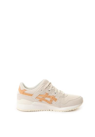 Asics Unisex Gel-Lyte III textil és bőr sneakers cipő női