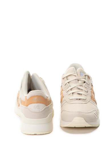 Asics Pantofi sport unisex de piele intoarsa si material textil Gel-Lyte III Barbati