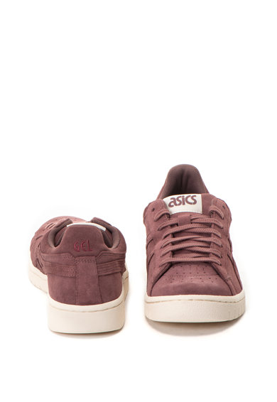 ASICS Tiger Велурени спортни обувки Gel-PTG с лого Мъже