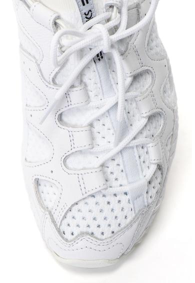 Asics Unisex Gel-Mai kötött anyagú sneakers cipő bőr részletekkel férfi
