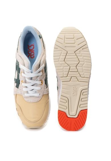 Asics Pantofi sport de piele si piele intoarsa Gel-Lyte III Barbati