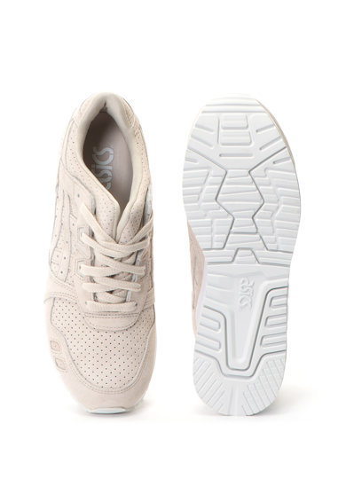 Asics Pantofi sport unisex de piele intoarsa Gel-Lyte III Barbati