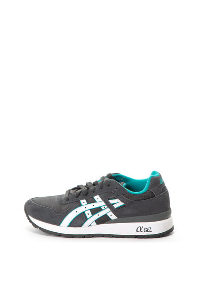 Asics GT-II párnázott sneakers cipő nyersbőr szegélyekkel női