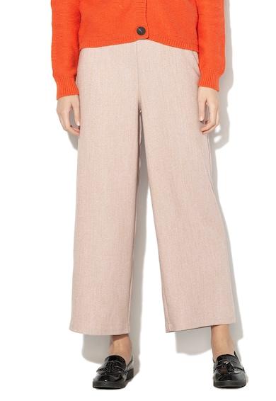 Vila Pantaloni culotte cu model geometric Marena Femei