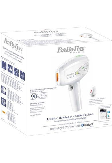 BaByliss Epilator  IPL Homelight , 300.000 impulsuri, Bluetooth, Alb Femei