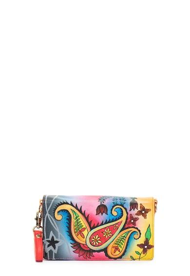 Niarvi Kézzel festett bőr pénztárca női
