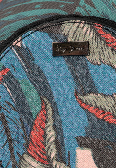 Pepe Jeans London Geanta crossbody de piele saffiano sintetica Tabi Femei
