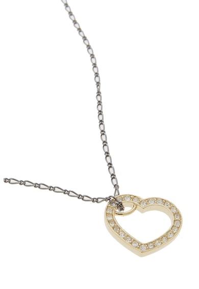 Guess Nyaklánc szív alakú medállal női