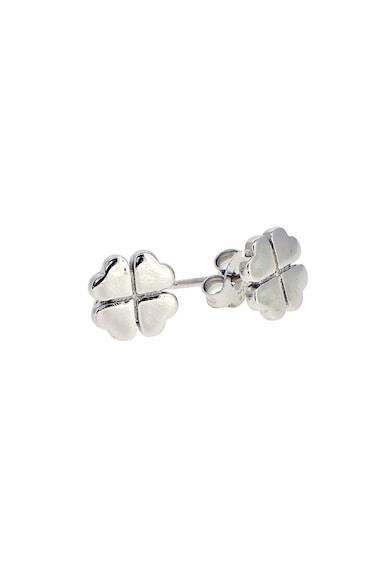 Rankine-Silver Cercei cu tija de argint 925 in forma de trifoi Femei