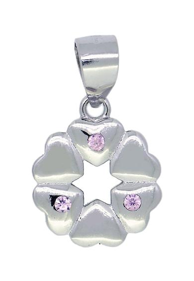 Rankine-Silver Pandantiv decorat cu zirconia, din argint 925 Femei