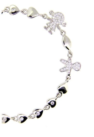Rankine-Silver Bratara decorata cu cristale Femei