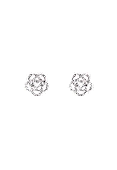 Rankine-Silver Set de pandantiv si cercei in forma de floare, de argint Femei
