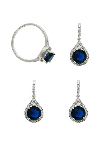 Rankine-Silver Set de pandantiv, cercei si inel de argint Femei