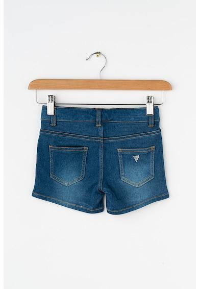 GUESS JEANS Pantaloni scurti din denim cu talie ajustabila Fete
