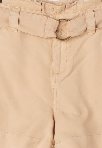 GUESS JEANS Pantaloni scurti lejeri din lyocell cu talie inalta Fete