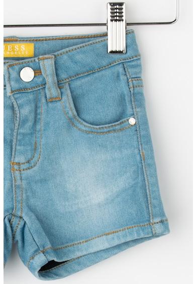 GUESS JEANS Pantaloni scurti elastici din denim Fete