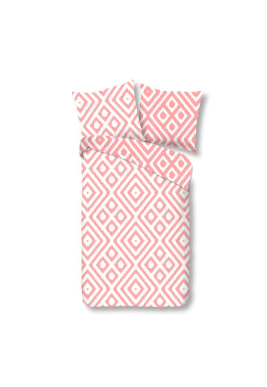 Good Morning Lenjerie de pat pentru 2 persoane Frits Pink  100% bumbac Femei