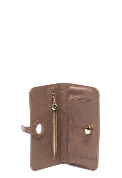 Matilde Costa Кожено портмоне с релефна повърхност Жени