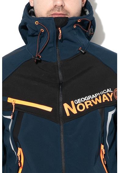 Geographical Norway Jacheta cu captuseala din fleece si gluga Toscou Barbati