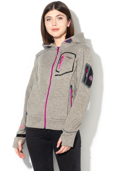 Geographical Norway Hanorac cu captuseala de fleece Telectra Lady Femei