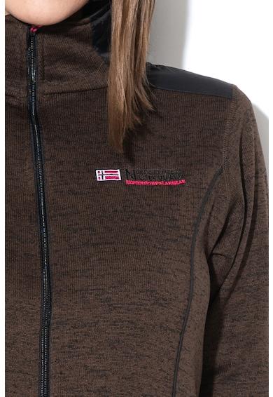 Geographical Norway Bluza sport din tricot cu fermoar Tina Femei