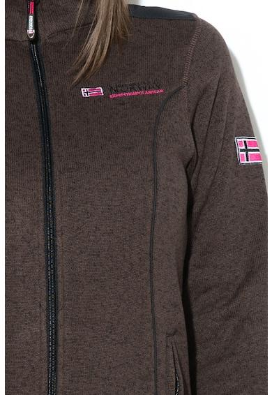 Geographical Norway Bluza sport cu fermoar si buzunare cu fermoar Tutelle Femei