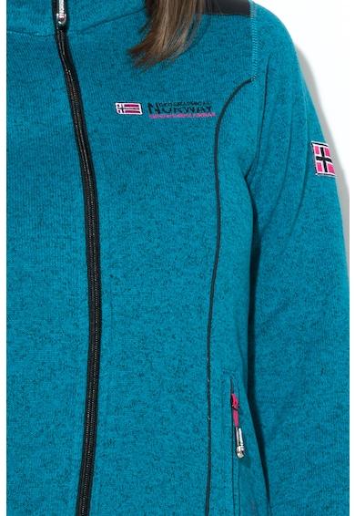 Geographical Norway Суитшърт Tutelle с джобове с цип Жени